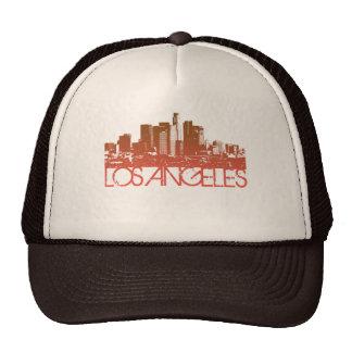 Design da skyline de Los Angeles Boné