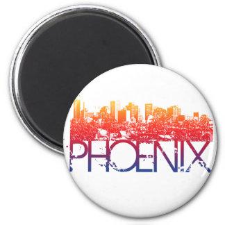 Design da skyline de Phoenix Ímã Redondo 5.08cm