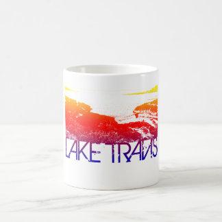 Design da skyline de Travis do lago Caneca