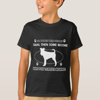 design das mamães do griffon apontar wirehaired tshirts