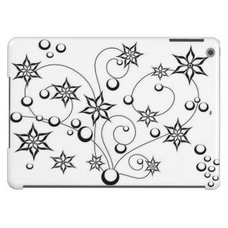 Design de B&W para a caixa do ar do ipad Capa Para iPad Air