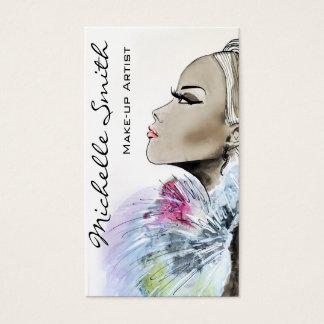 Design de cartão de visita do artista de