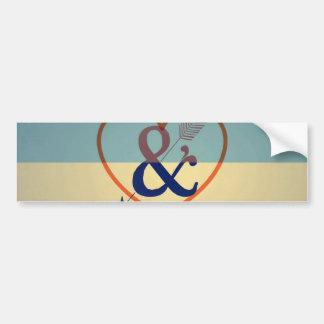 Design de creme azul do vintage. Teste padrão do Adesivo Para Carro