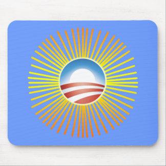 Design de Obama Sun no camiseta, Hoodies Mousepad