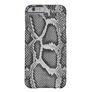 Design de Snakeskin, teste padrão da pele de cobra Capa Barely There Para iPhone 6