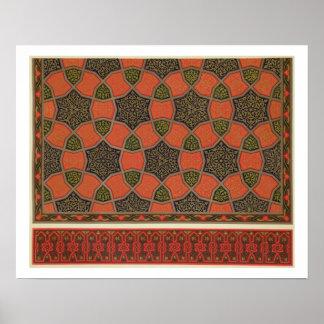 Design decorativo árabe, 'da arte árabe como visto impressão