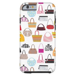 Design do amante da bolsa da diva capa tough para iPhone 6