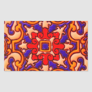 Design do azulejo adesivo retangular