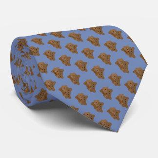 Design do biscoito de cão gravata