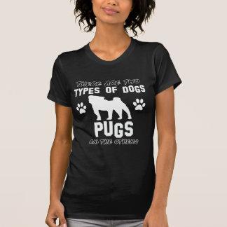 Design do cão do Pug T-shirt