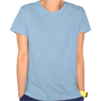 Design do cavalo marinho da menina do surfista camiseta