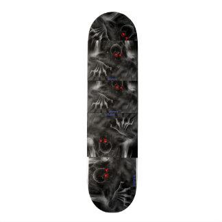 """Design do crânio do ¾ de Skateborad 7"""" - Shape De Skate 19,7cm"""