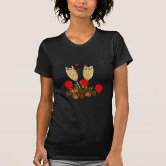 Design do dia dos namorados camiseta