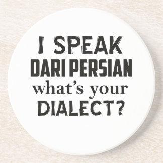 Design do dialecto de Afeganistão do persa do dari Porta-copos