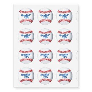 Design do divertimento do fã de basebol