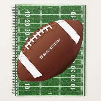 Design do futebol semanal/mensalmente planejador