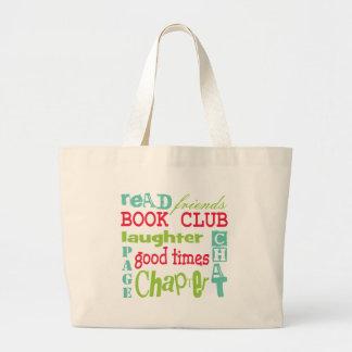 Design do metro do clube de leitura por Artinspire Bolsas De Lona