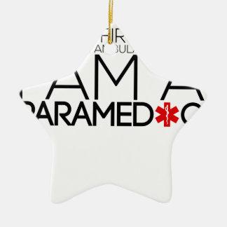 design do paramédico bonito ornamento de cerâmica