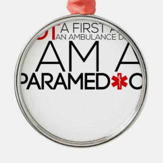 design do paramédico bonito ornamento de metal
