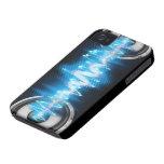 design do poder da música iPhone 4 capa