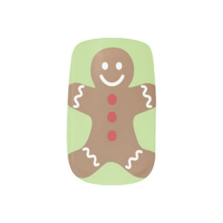 Design do prego do feriado dos homens de adesivo de unha