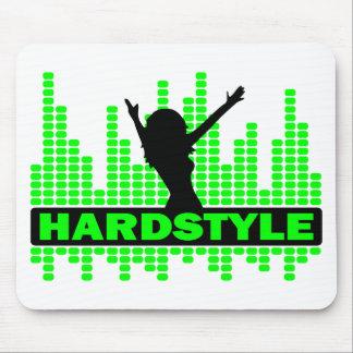 Design do ritmo do dançarino de Hardstyle Mousepad