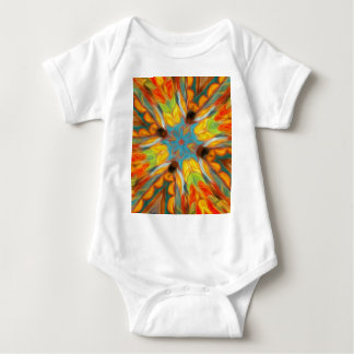 Design do sudoeste abstrato body para bebê