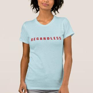 Design do t-shirt das mulheres indiferentes