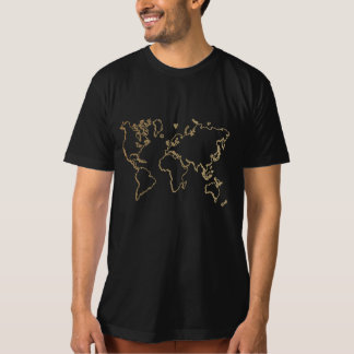 design do t-shirt do T da graduação do mapa do