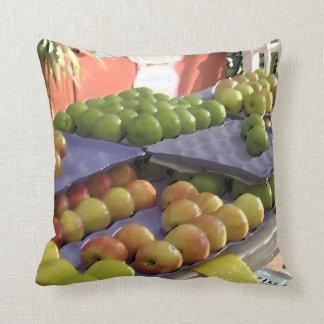 Design do travesseiro do suporte de fruta almofada