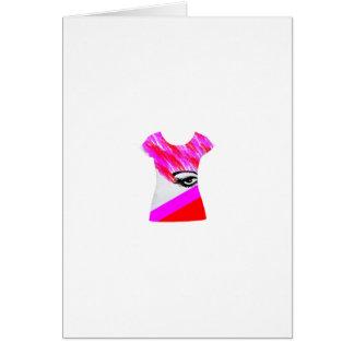 Design do Tshirt do olho Cartões
