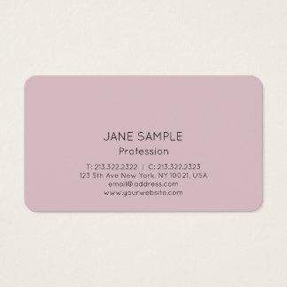 Design elegante moderno profissional simples cartão de visitas