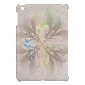 Design floral abstrato iPad mini capas