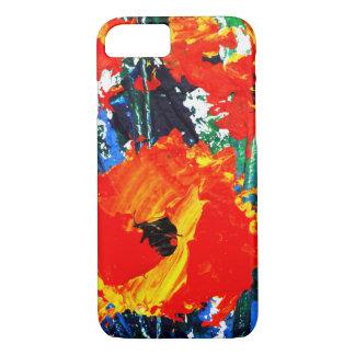 Design floral capa iPhone 7