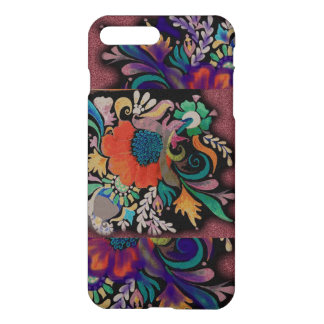 Design floral capa iPhone 7 plus