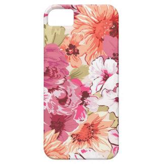 Design floral elegante abstrato capas para iPhone 5