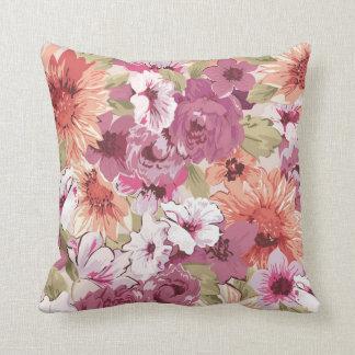 Design floral elegante abstrato travesseiro