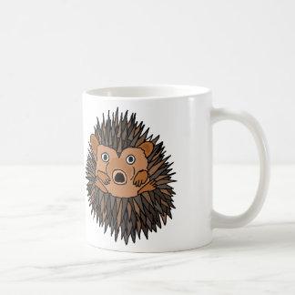 Design Funky da arte do ouriço Caneca De Café