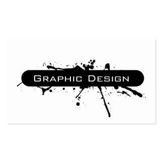 Cartões de visita de design gráfico na Zazzle