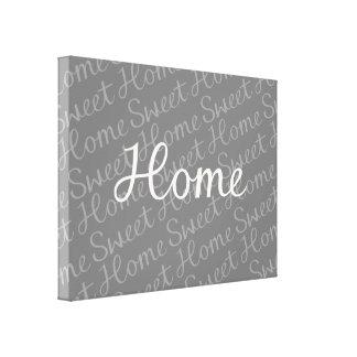 Design Home doce Home do roteiro no creme em