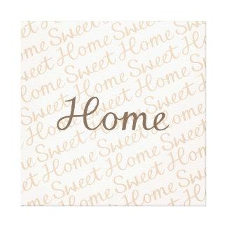Design Home doce Home do roteiro nos marrons