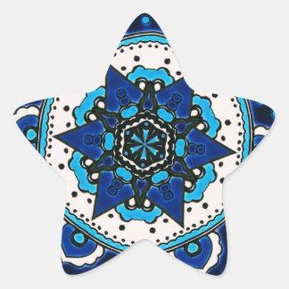 Design islâmico do azulejo do otomano com adesito estrela