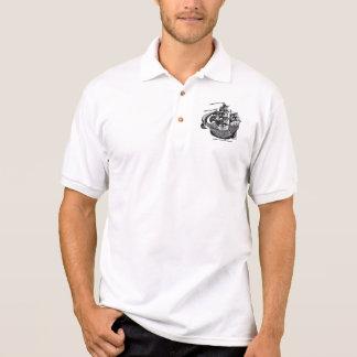 Design legal alto da camisa do navio de navigação