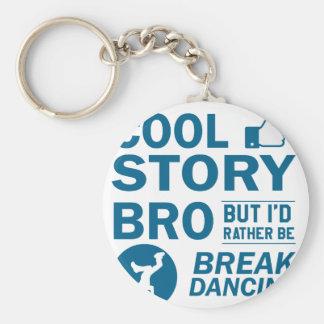 Design legal da dança de ruptura chaveiro