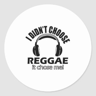 Design legal da reggae adesivo