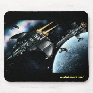 Design legal do mousepad da patrulha do espaço