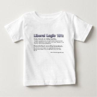 Design liberal #2 da lógica 101 tshirt
