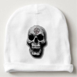 Design mau satânico do crânio gorro para bebê