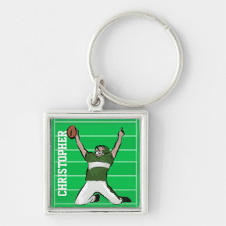 Design personalizado do jogador de futebol do ferr chaveiro