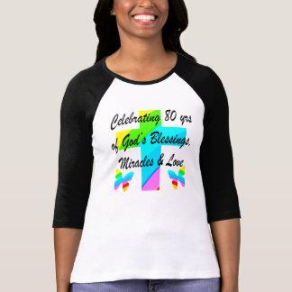 DESIGN PERSONALIZADO RELIGIOSO do ANIVERSÁRIO do Tshirts